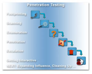 Network penetration software